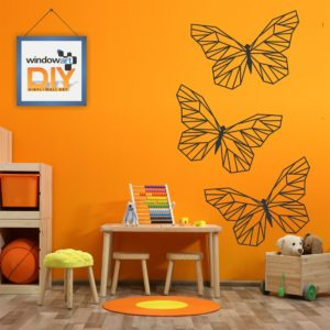 DIY_GW10 (Polygon Butterflies) Black