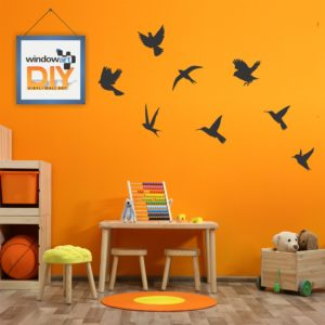 DIY_GW12 (Flying Birds) Black