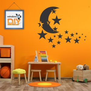 DIY_WB2 (Moon & Stars) Black