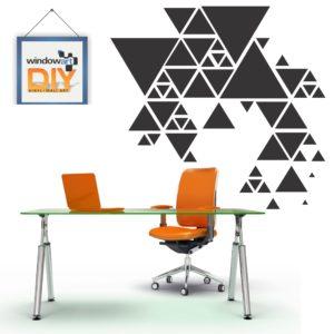 DIY_WC6 (Triangles) Black