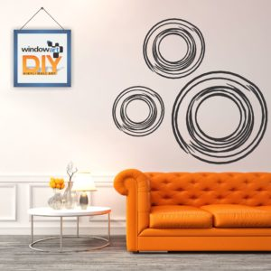 DIY_WD1 (Abstract Circle 1) Black