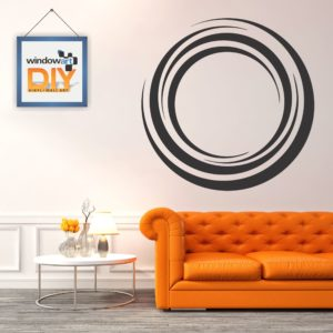 DIY_WD2 (Abstract Circle 2) Black