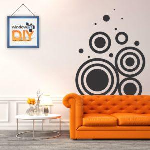 DIY_WD4 (Intersecting Circles) Black