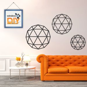 DIY_WD7 (Geometric Circle) Black