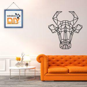 DIY_WN16 (Polygon Bull) Black