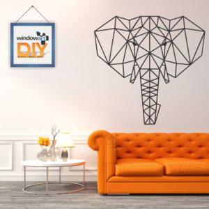 DIY_WN18 (Polygon Elephant) Black