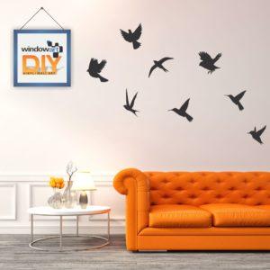 DIY_WN4 (Flying Birds) Black