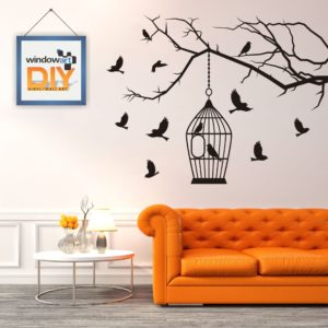 DIY_WN5 (Bird Cage) Black